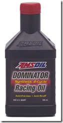 AMSOIL DOMINATOR 2-Cycle Racing Oil