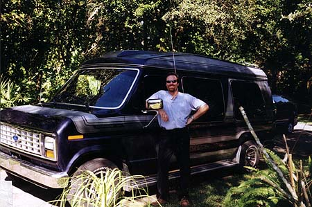 Me with 1989 Ford E-150 Conversion Van