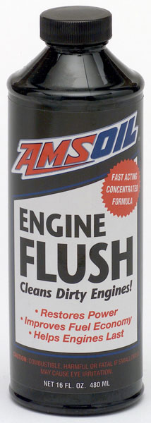 Amsoil Engine Flush Bottle